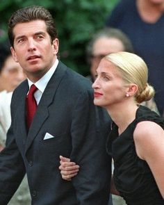 John F Kennedy Jr. & Carolyn Bessett