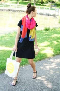 jillgg's good life (for less) | a style blog: my outfit: Jess LC new neon totes! @Jess Constable #ootd #whatiwore