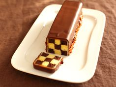 ダミエ柄チョコケーキ レシピ