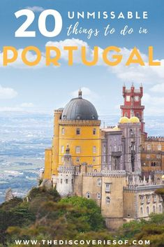 Things to do in Portugal. Algarve I Travel I Lisbon I Porto I Europe Travel Destinations #travel #portugal #europe