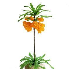 Plante en perles fritillaire grandeur nature