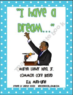 Martin Luther King, Jr - ELA Mini-Unit product from Mrs-Floods-Friends on TeachersNotebook.com
