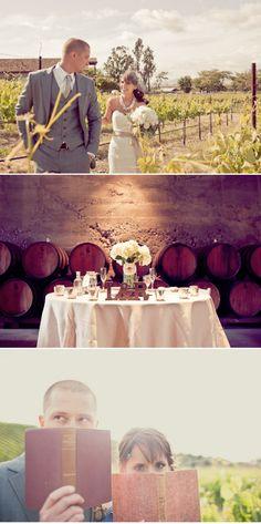 diy wedding with vintage style
