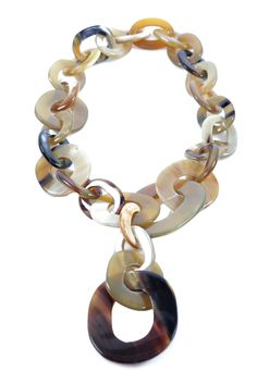 Mother of Pearl - Link Necklace