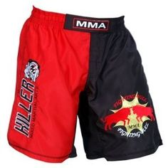 MMA Short in Polyester 2 Tone Fabric with Embroidered Logo Size 2XL by Worldorf USA. $14.99. MMA Short in Polyester 2 Tone Fabric with Embroidered Logo Size