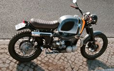 BMW R100RS Scrambler by Ottodrom #motorcycles #scrambler #motos | caferacerpasion.com