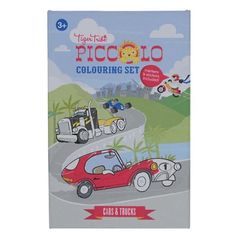 Tiger Tribe Colouring Set Cars & Trucks - £9.99 - A great range of Tiger Tribe Colouring Set Cars Trucks - FREE Delivery over £25!
