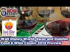 WDW Radio Walt Disney World Swan and Dolphin Food and Wine Classic 2014 Preview