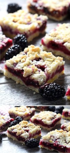 BLACKBERRY CRUMB BARS - bars, blackberry, crumb, dessert, recipes