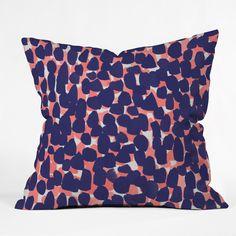 Rebecca Allen Bem Bem Throw Pillow | DENY Designs Home Accessories