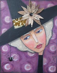Autumn Witch by The Vintage Sister, via Flickr