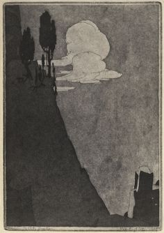 """James Blanding Sloan, Photo of """"Genius - the Cliff Dweller. Moving To San Francisco, Commercial Art, Black And White Illustration, Etchings, Cliff, Folklore, Vr, Printmaking, Graphic Art"""
