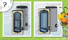 Zakaj je v večini primerov potrebno ob vgradnji toplotne črpalke zamenjati tudi bojler - grelnik za sanitarno vodo? Preveri razliko med klasičnim in zmogljivejšim bojlerjem, primernim za toplotno črpalko > http://www.varcno-ogrevaj.si/menjava-obstojecega-bojlerja-ob-vgradnji-toplotne-crpalke/