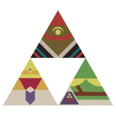 """""""Legend of the Triforce"""" T-Shirts & Hoodies by Bendragon 