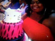 My hello kitty birthday cake!♡