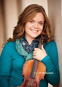 senior pictures with violin - Google Search