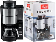 Promotie Cafetiera AromaFresh Black Melitta – 300 Lei Reducere de Pret Drip Coffee Maker, Black, Products, Black People, Coffee Making Machine, Gadget