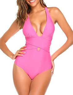 Avidlove Women's Plunge Deep V Neck One Piece Swimsuit(Pi... https://www.amazon.com/dp/B071ZFJ5KP/ref=cm_sw_r_pi_awdb_t1_x_-FK0AbGMF71GZ