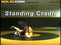 Cradle from Feet KOLAT.COM Wrestling Techniques Moves Instruction
