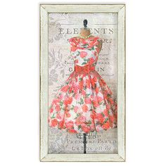 decorative pink party dress ii. Wayfair