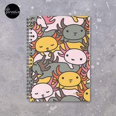 - 120 pages  - Cover 350gsm, paper stock 90gsm  #journal  #sketch  #writing   #notebook   #axolotl #axolotllove #illustrationbook #coloraddict #weperceive #weperceivestyle #spiral #stationery #travelersnotebook #bulletjournal #planner #notes #journaling #agenda #planning #diary #scrapbooking #recording #write #onlineshopping #shoppingonline #inspiration