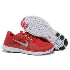 new concept bc0ce 2dea0 Billig luksus 2012 Dame Nike Free Run 3 Rød Grå Nike Free 3, Cheap Nike