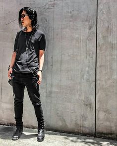 OOTD - Cotton Stretch Jersey SS / Irregular Cut Stretch Denim Pants - zero #zero #zerointernational #jhp #blackfashion #darkfashion #black #japan #osaka #madeinjapan #大阪 #ファッション #メンズファッション #unisex #ユニセックス #ootd #instafashion #靭本町 #日本 #ootdfashion #style  #osaka  #streetfashion #ゼロ #guidi #iolom #jhp #fashion #fashionsnap @zero_sho_yamamoto @zero_staff_oka