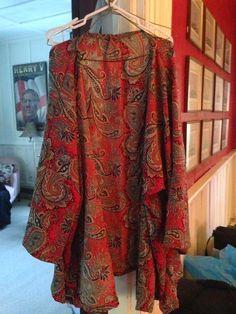 The Dangerous Mezzo: Plu size DIY Kimono, sewing without a pattern