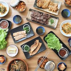 NOW OPEN:  Soban K-Town Grill - Alabang Town Center  Serving unique Korean-Mexican fusion dishes like their K-taco and Korilog  First 50 tables to dine tomorrow until the 23rd get a free gimbap platter  @sheroseontimare # #bookymanila  View its exact location on our app!  Tag your friends who love Korean and Mexican food
