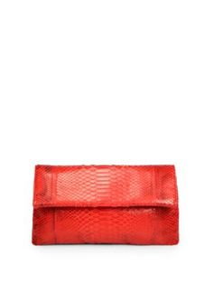 Hunting Season Red Python Clutch | theglitterguide.com