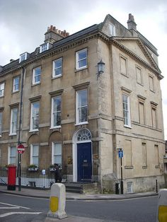 Another Jane Austen house...Jane Austen lived here with her brother and his family while she wrote Persuasion and Northanger Abbey. JANE! AUSTEN!