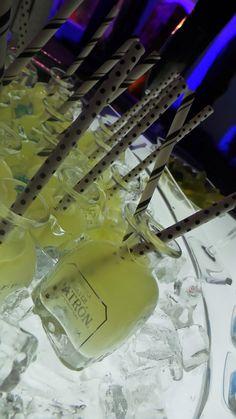 Mini Margaritas in a Patron Silver Bottle. Peter Callahan Style!