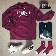 Outfit grid - Jordan sweat