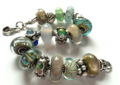 Trollbeads muted turquoise