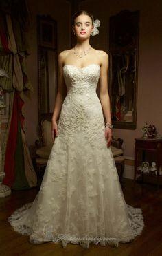 Casablanca 2117 wedding dress