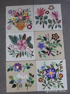 Caswell Quilt blocks