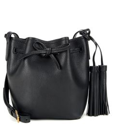 7bd2f63c18 Polo Ralph Lauren Mini Bucket Leather Shoulder Bag (3