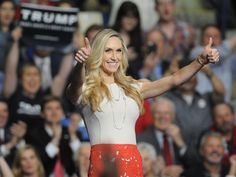 Lara Trump continues to be a part of her father-in-law Donald Trump's presidential campaign, which she said has started a movement among voters. Donald Trump Fired, Donald And Melania, Eric Trump, Daughter In Law, Trump Train, First Lady Melania, New Day, Black Men, Presidents