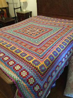 Wendy Blanket knitting and crochet project by Rachel W