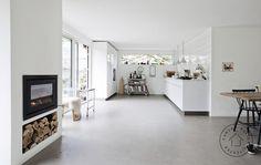 Køkken med haveadgang