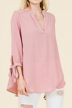 This mauve blouse is simply beautiful and wonderful for any occasion! Sizing Recommendation : If in between sizes, size down one. Runs big & long Fashion Vocabulary, 2020 Fashion Trends, Fashion Ideas, Casual Skirt Outfits, Girls Blouse, Blouse Outfit, Blouses For Women, Women's Blouses, Ladies Dress Design
