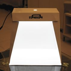 StandScan - A light box for product photos