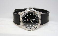 TAG-HEUER Aquaracer Wristwatch with Adjustable Rubber Bracelet  Auction Start $0.99