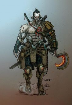 New Look for Lobo's 'First' New 52 Appearance by Lobo Concept Art, Kenneth Rocafort Comic Villains, Comic Book Characters, Comic Character, Comic Books Art, Character Concept, Dc Comics, Anime Comics, Red Hood, Cr7 Messi