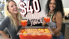 Booze on a Budget - The $40 Jungle Juice - Tipsy Bartender