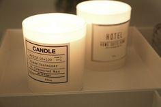 H&M Home candels <3