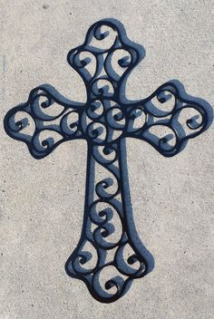 Decorative Crosses / Crucifix by MyMetalWorks on Etsy