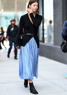 20 of the best street-style looks from New York Fashion Week Look Street Style, New York Fashion Week Street Style, Look Fashion, Autumn Fashion, Fashion Tips, Fashion Trends, Fashion Lookbook, Fashion Women, Fashion Ideas