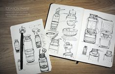 O vício do designer francesAntoine Beynelé tomar café (acho que é o de muitos criativos ao redor do mundo) e isso o inspirou a criar um produto que faz café de forma bem criativa e elegante. Conf…