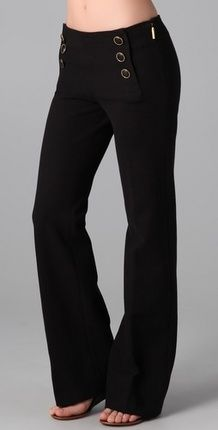 These Tory Burch Rosemary Pants (via Shop It To Me) remind me of one of my favorite pairs of black pants ever ... way back in high school!